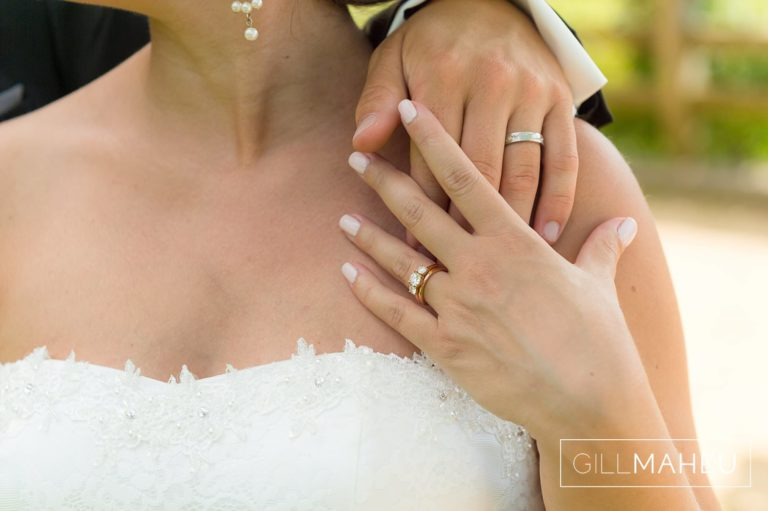 details of wedding couple's hands showing off their new wedding rings at Lutry, Lausanne wedding by Gill Maheu Photography, photographe de mariage