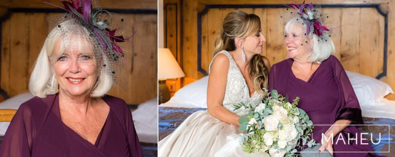 wbridal portraits of bride laughing at Abbaye de Talloires, Annecy wedding by Gill Maheu Photography, photographe de mariage