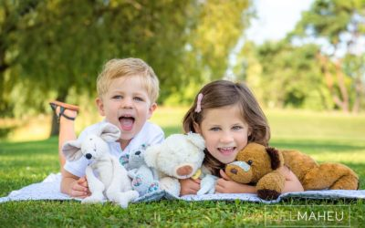 portrait of two young children at summer sun lifestyle photography session with beautiful young family in Lausanne by Lifestyle photographer Gill Maheu Photography, photographe de famille