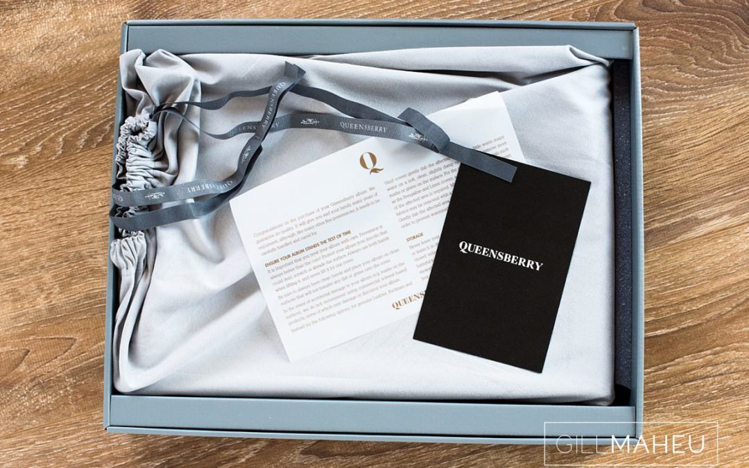 details of luxury Queensberry album presentation box for Chateau de Satigny, Geneve wedding by Gill Maheu Photography, photographe de mariage
