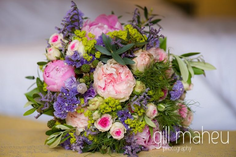 stunning wedding bouquet of peonies and roses by Fantasia Fleurs for Chateau de Coppet, Geneva wedding by Gill Maheu Photography, photographe de mariage