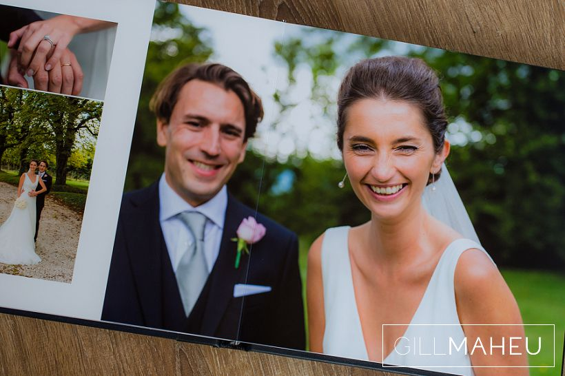 Beautiful Digital Art wedding album – Chateau de Moulinsard