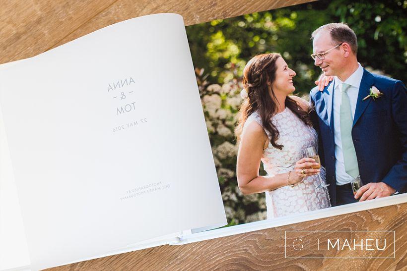 luxury Queensberry wedding album – A&T