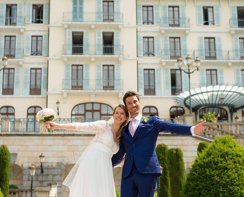 A stunning stormy wedding – Palace de Menthon, Annecy – A&M – part 2
