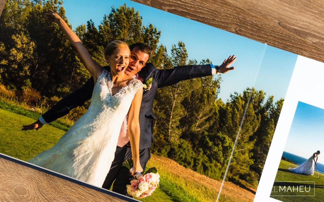 stylishly gorgeous Queensberry wedding album