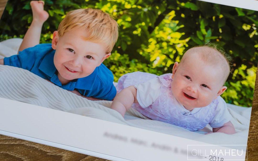 Family Lifestyle portrait album – Lake Geneva lifestyle session