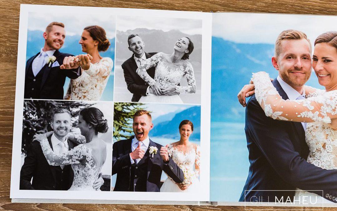 beautiful Digital Art wedding album – Vevey